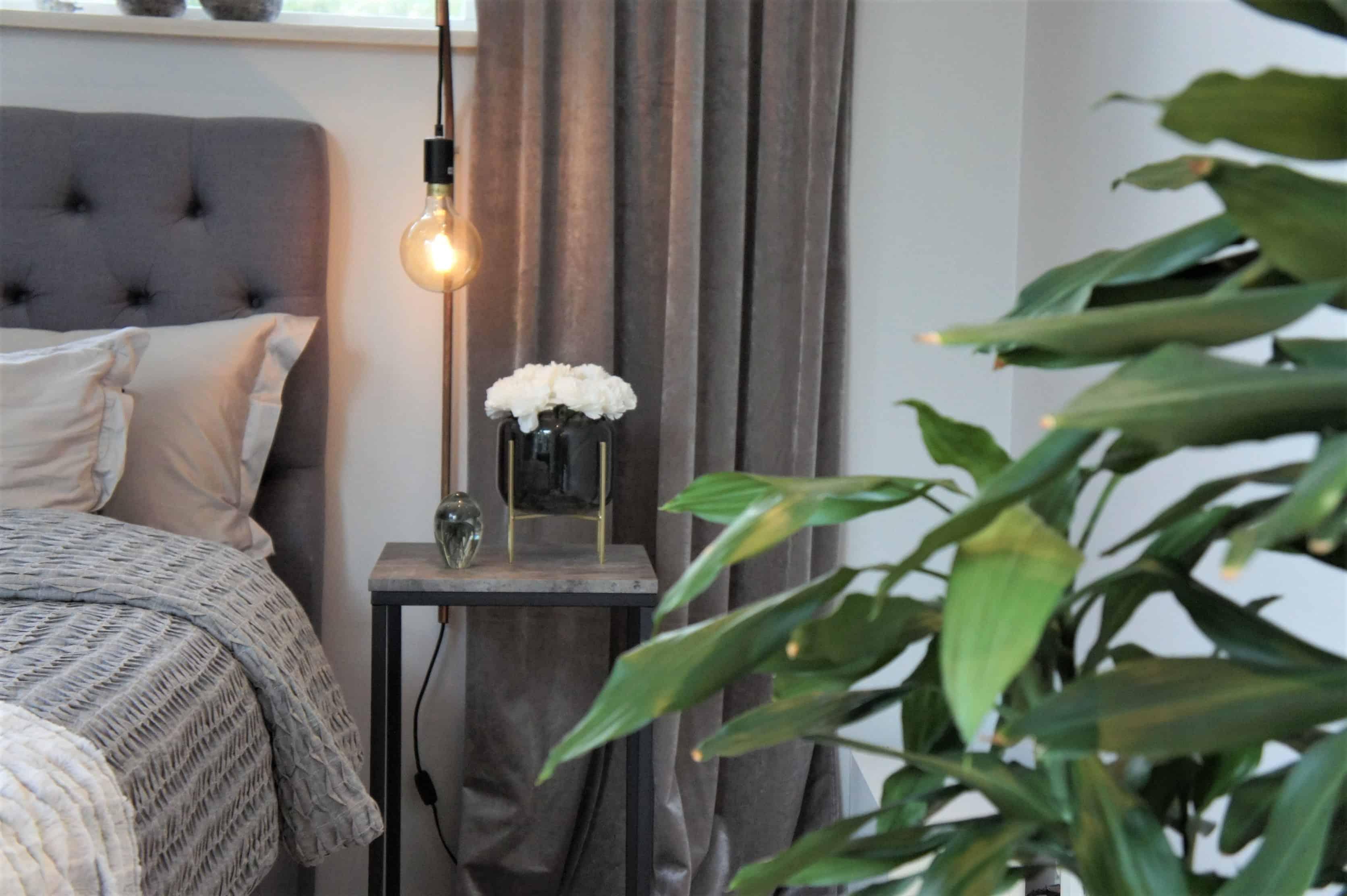master bedroom sammet sovrum velvet