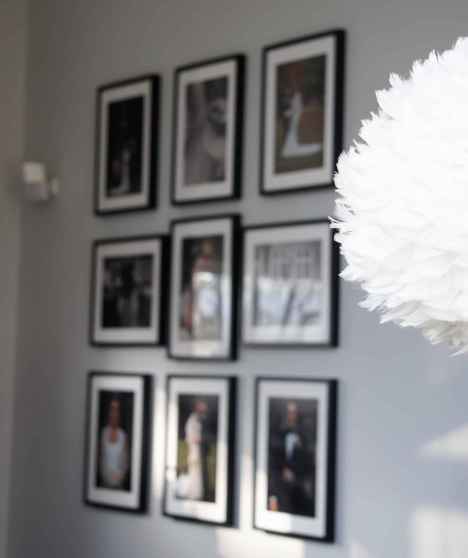 fotovägg photowall bröllopsfoto ikea ramar bose
