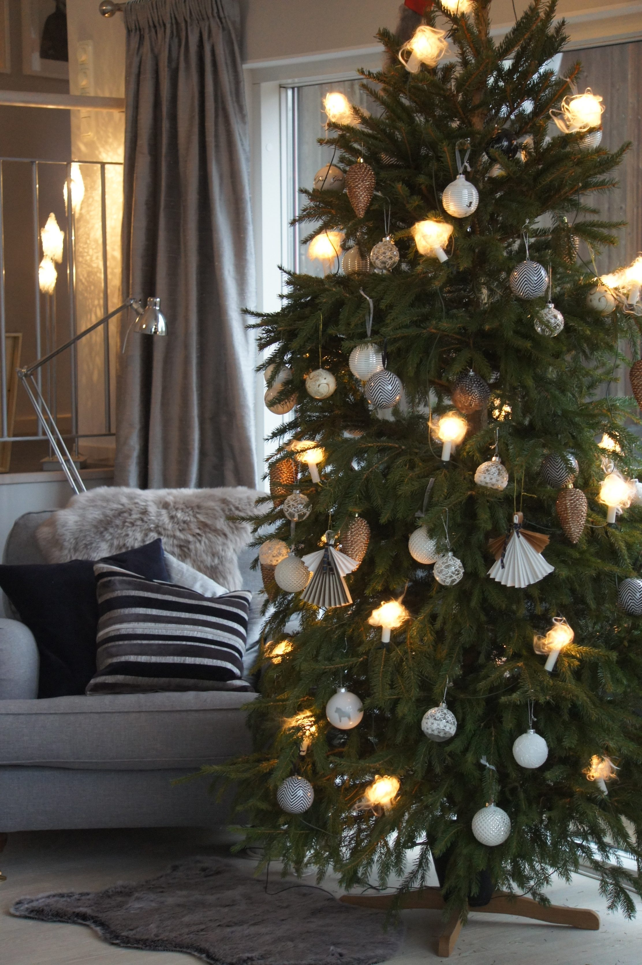 gran jul christmas julgranskulor pyssel DIY