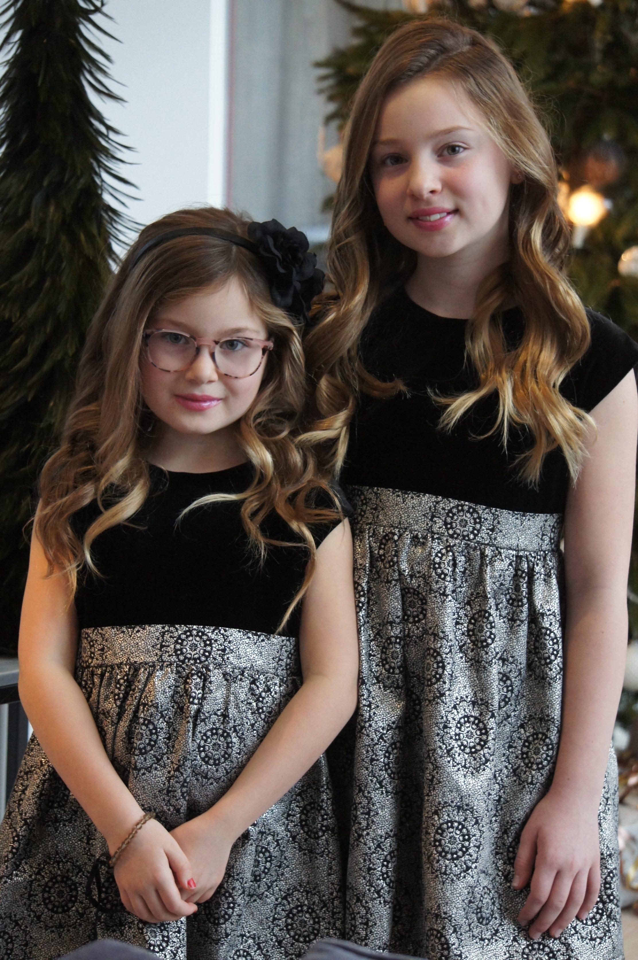 godjul merry christmas porträtt barnfoto benetton klänningar sammet